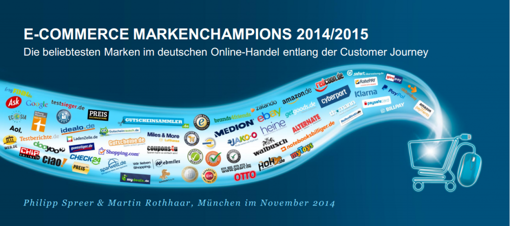 E-Commerce Markenchampions 2014/2015